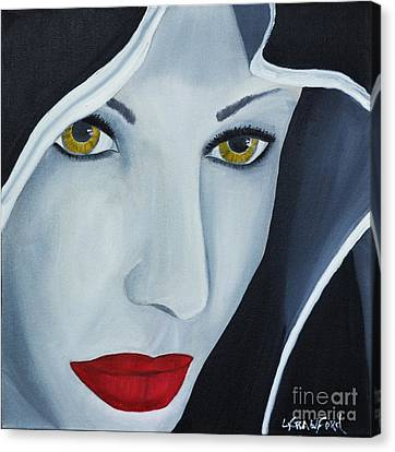 Shewolf Canvas Print by Lori Jacobus-Crawford
