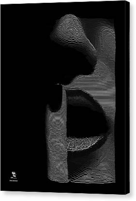 Shhh Canvas Print