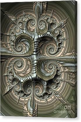 Shield Canvas Print
