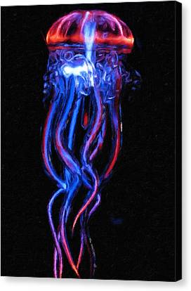Shimmer Canvas Print by Georgiana Romanovna
