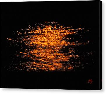 Shimmer Canvas Print by Linda Hollis