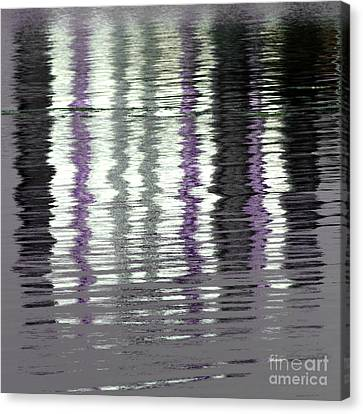 Canvas Print featuring the photograph Shimmer by Wendy Wilton