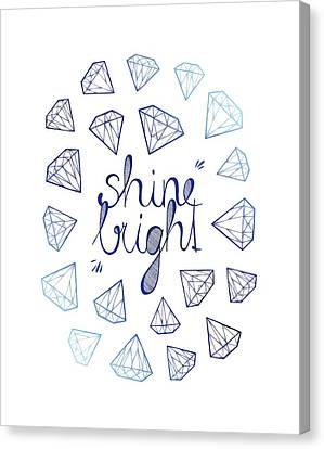 Shine Bright Canvas Print by Barlena