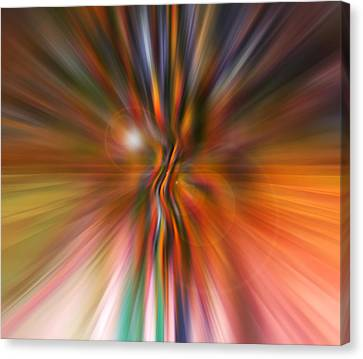 Shine On Canvas Print by Linda Sannuti