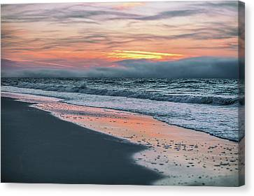 Canvas Print featuring the photograph Shine On Me Beach Sunrise  by John McGraw