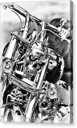 Shining Skull Canvas Print