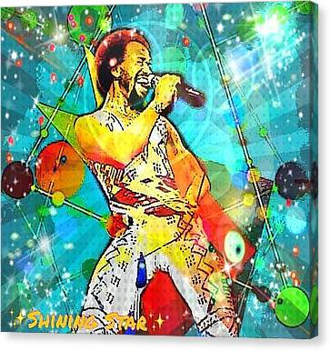 Shining Star  Canvas Print