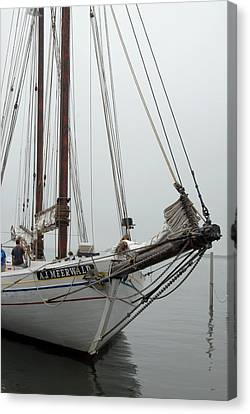 Ship 21 Canvas Print by Joyce StJames
