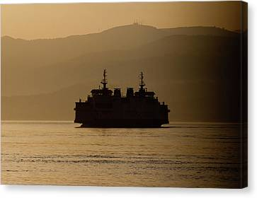 Ship Canvas Print by Bruno Spagnolo