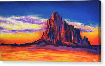 Shiprock Mountain Canvas Print
