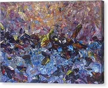 Shipwreck Canvas Print by James W Johnson