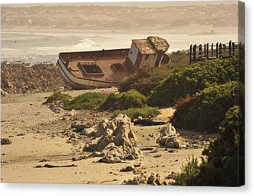 Shipwrecked Canvas Print by Patrick Kain