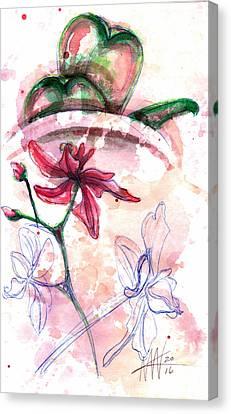 Shiraz Orchid II Canvas Print