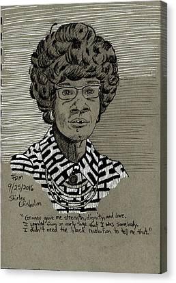 Shirley Chisholm Canvas Print