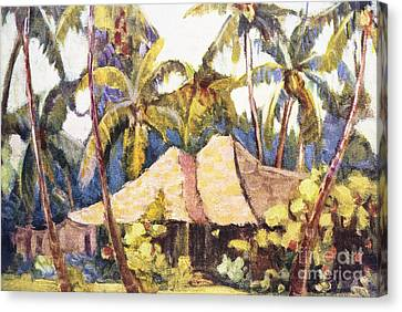 Shirley Russell Art Canvas Print by Hawaiian Legacy Archive - Printscapes