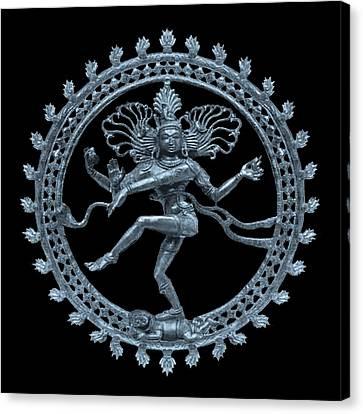Shiva - Nataraja- Cosmic Dancer Canvas Print by Svahha Devi