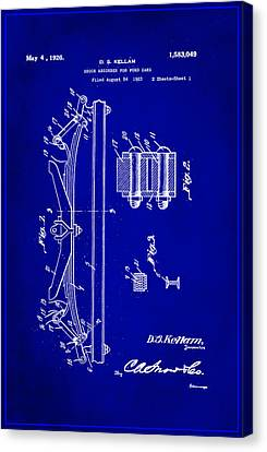 Shock Absorber Patent Drawing 1c Canvas Print