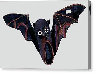 Shoe Bat Canvas Print by Bill Thomson