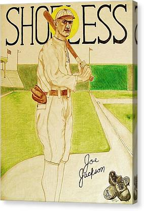 Shoeless Joe Jackson Canvas Print