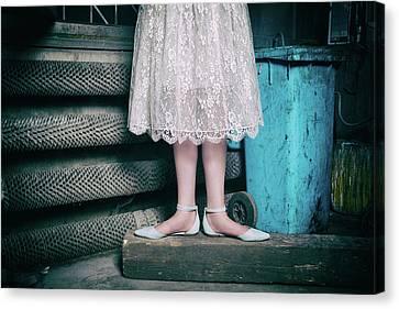 Shoes #6429 Canvas Print