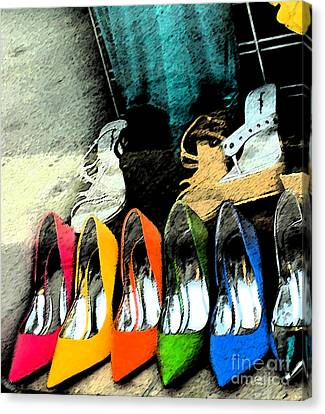 Shoes Canvas Print by Gary Everson