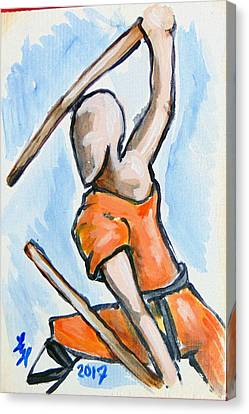 Sholin Monk Canvas Print