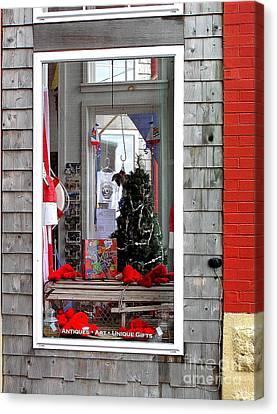 Shop Window Canvas Print