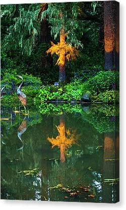 Canvas Print featuring the photograph Shore Acres Beauty by Dale Stillman
