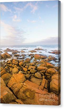 Shore Calm Morning Canvas Print by Jorgo Photography - Wall Art Gallery