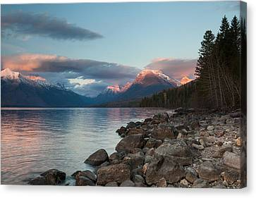 Canvas Print featuring the photograph Shoreline by Fran Riley