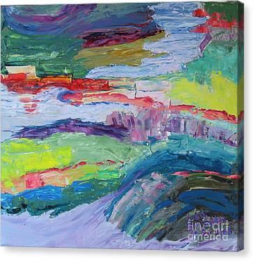 Shoreline Canvas Print by Judith Espinoza