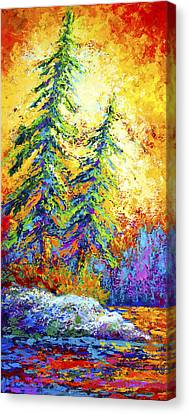 Shoreline Spirits Canvas Print by Marion Rose