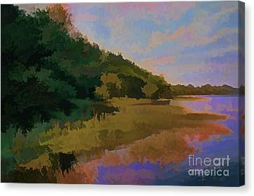Shoreline Canvas Print by Tom Prendergast