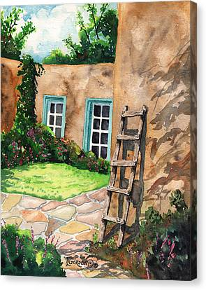 Short Ladder Canvas Print