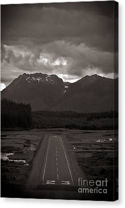 Short Runway Canvas Print