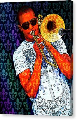 Shorty Canvas Print by Tammy Wetzel