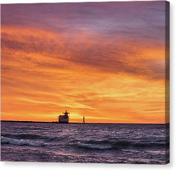 Canvas Print featuring the photograph Should Have Been There by Bill Pevlor
