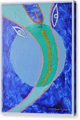 Shree Ganeshay Dheemahi Canvas Print