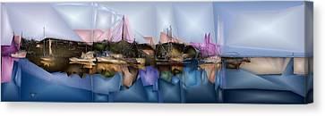 Beautiful Creek Canvas Print - Shremp Creek Fishing by Jon Glaser