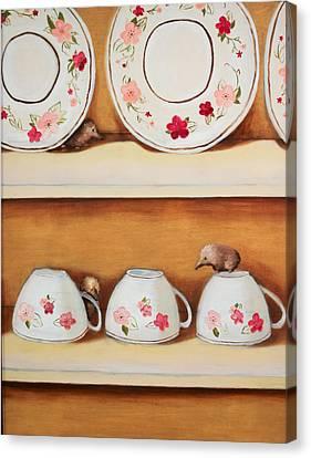 Shrews Canvas Print
