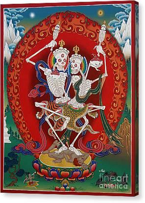 Shri Chittipati - Chokling Tersar Canvas Print