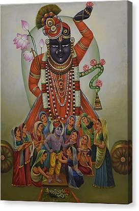 Shrinathji Canvas Print