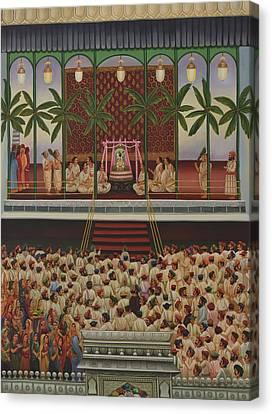 Shrinathji Sabha Canvas Print