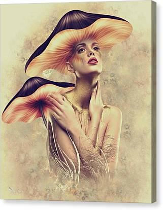 Shrooms Canvas Print - Shroom by Ali Oppy
