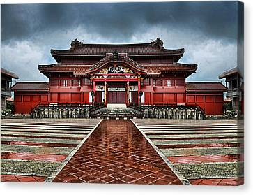 Shuri Castle Canvas Print