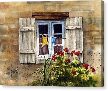 Shutters Canvas Print by Sam Sidders