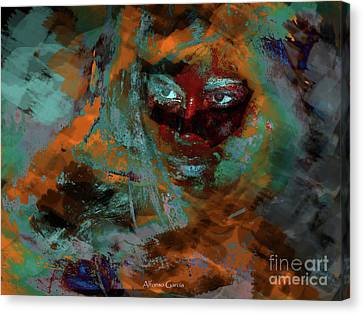 Canvas Print featuring the photograph Si by Alfonso Garcia