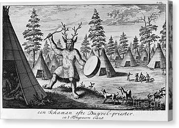 Siberia: Shaman Canvas Print