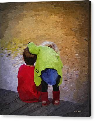 Sibling Love Canvas Print by Brian Wallace