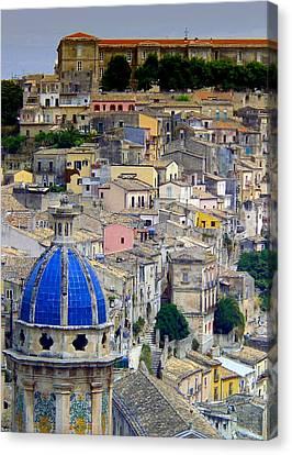 Sicily Canvas Print by Sorin Ghencea